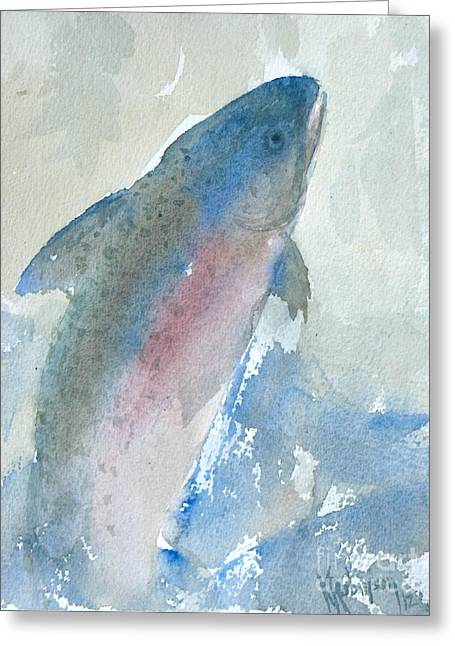 Rainbow Dreams Greeting Card by Karen A Robinson