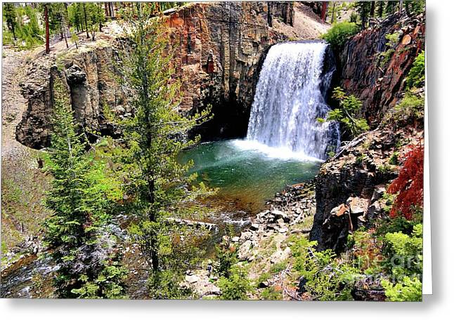 Rainbow Falls 1 Greeting Card