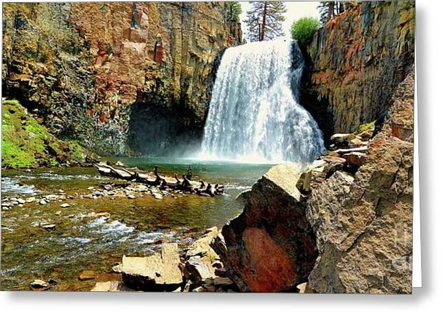 Rainbow Falls 2 Greeting Card