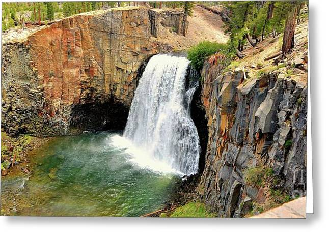 Rainbow Falls 3 Greeting Card