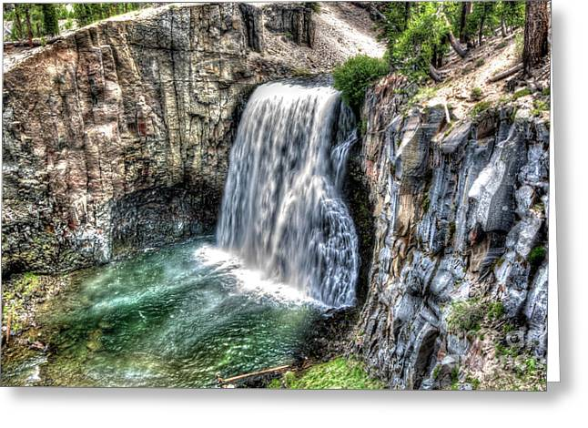 Rainbow Falls 5 Greeting Card