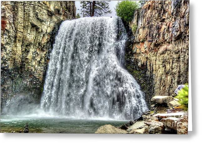 Rainbow Falls 7 Greeting Card
