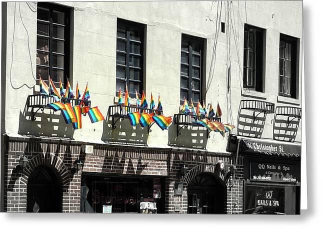 Rainbow History Greeting Card by Dan Stone