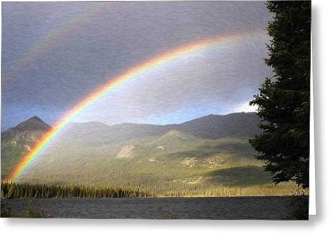 Rainbow - Id 16217-152059-7260 Greeting Card by S Lurk