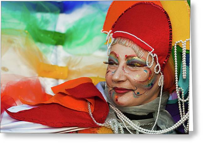 Rainbow Lady Greeting Card