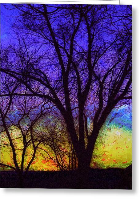 Rainbow Morning Greeting Card