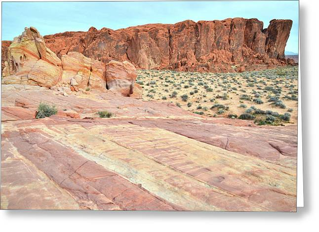 Greeting Card featuring the photograph Rainbow Of Color In Valley Of Fire by Ray Mathis