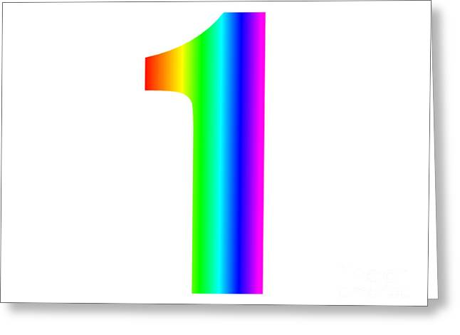 Rainbow One Greeting Card