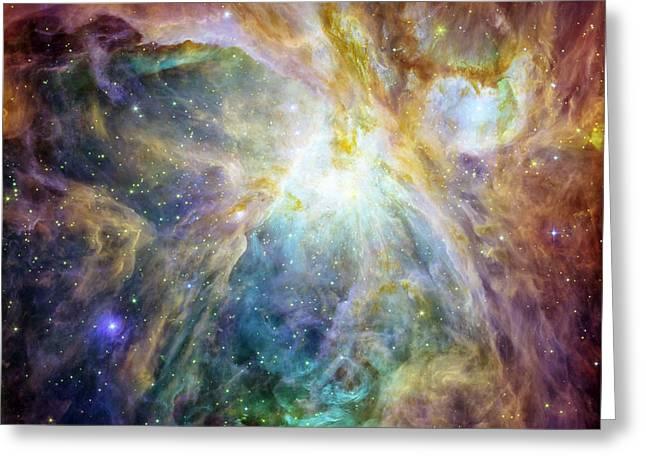 Rainbow Orion 2 Greeting Card