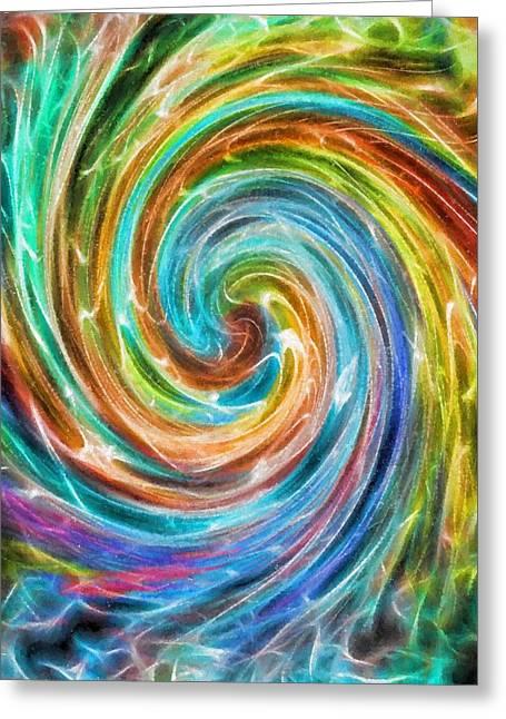 Rainbow Portal Greeting Card