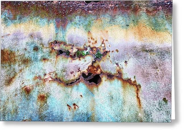 Rainbow Rust Greeting Card by Karen Stahlros