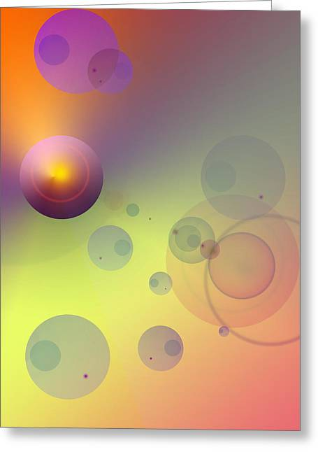 Rainbow Sherbet Greeting Card by Anthony Caruso