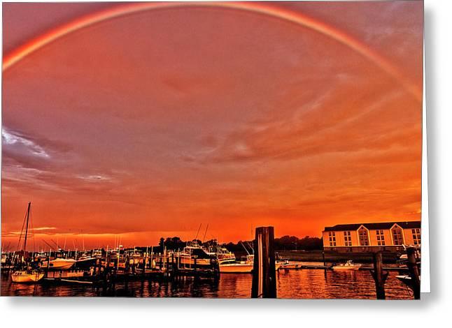 Rainbow Sunrise Greeting Card