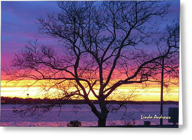 Greeting Card featuring the photograph Rainbow Sunset by Robert Henne