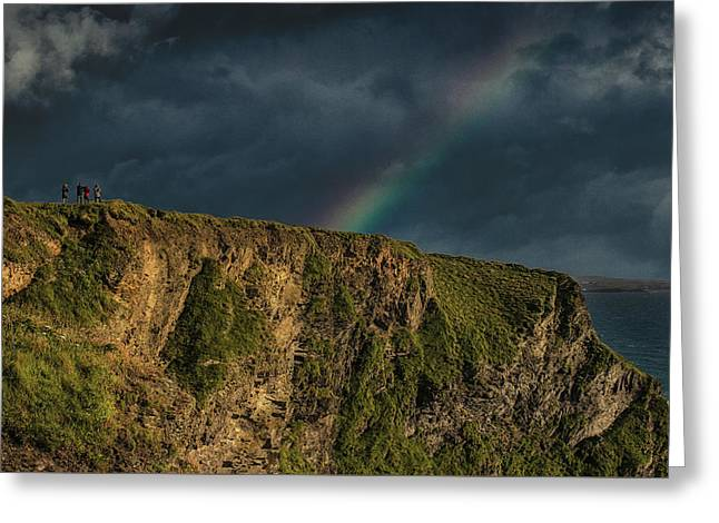 Rainbow View Greeting Card by Martin Newman