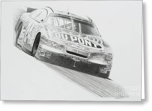 Jeff Gordon Greeting Cards Page 2 Of 2 Fine Art America