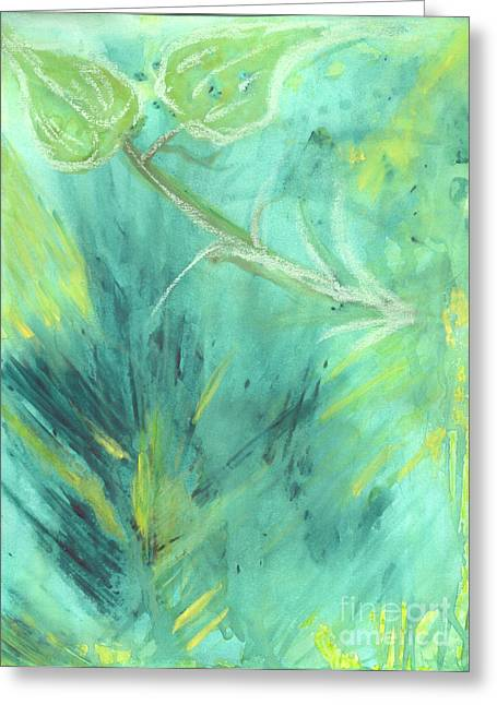 Rainforest Haze Greeting Card