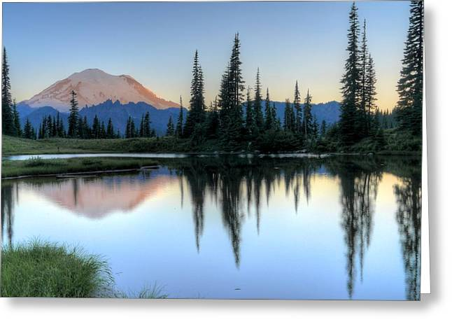 Rainier From Tipsoo Greeting Card