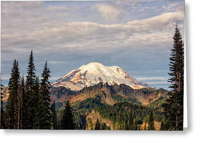 Rainier Morning Greeting Card