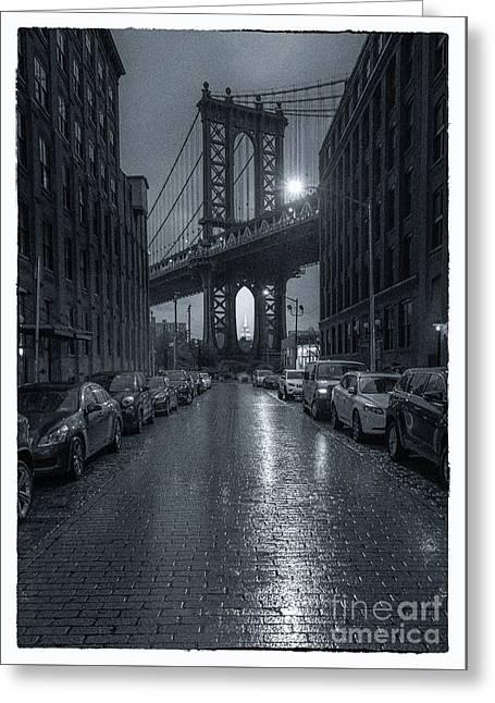 Rainy Day In Brooklyn Greeting Card