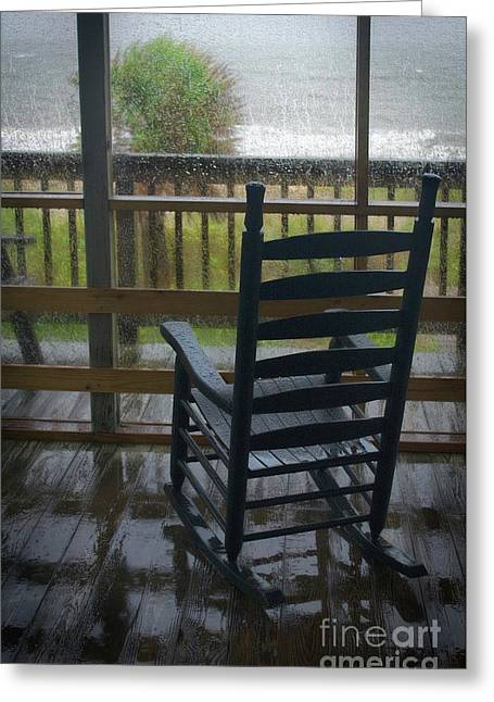 Rainy Day Memories Greeting Card by Skip Willits
