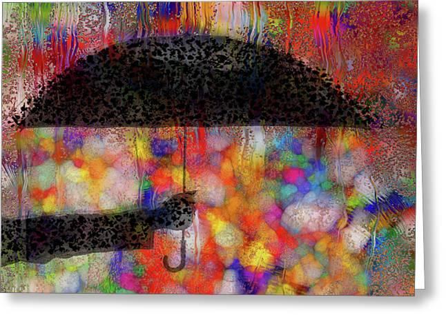 Rainy Day Series Greeting Card by Jack Zulli