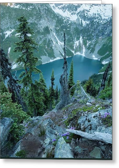 Rainy Lake Greeting Card