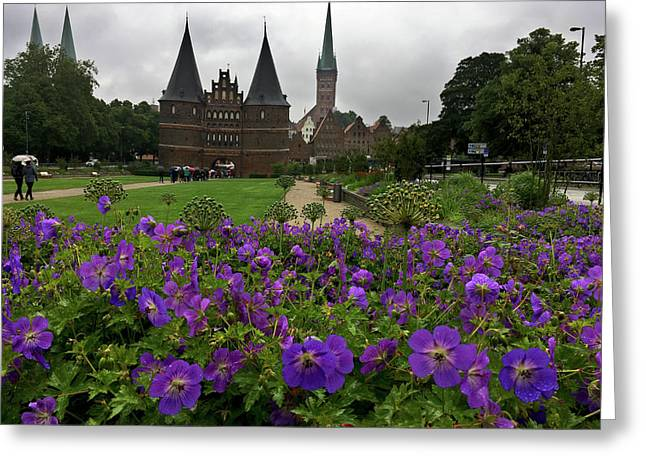 Rainy Luebeck Is Beautiful Greeting Card