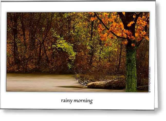 Rainy Morning Greeting Card