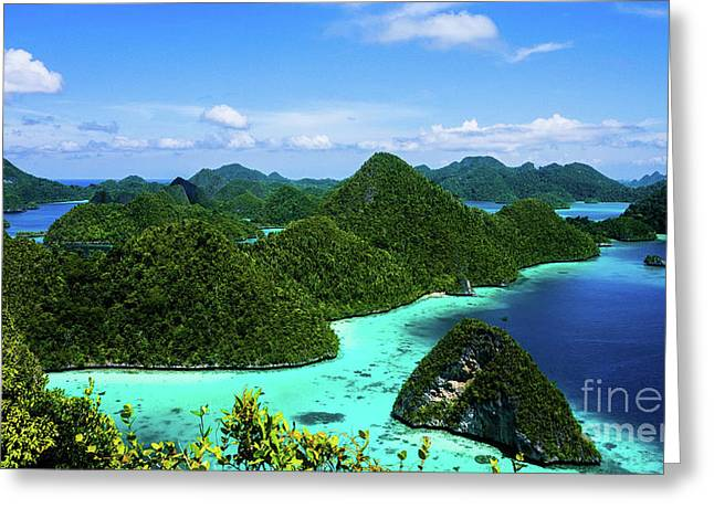 Raja Ampat Island Greeting Card