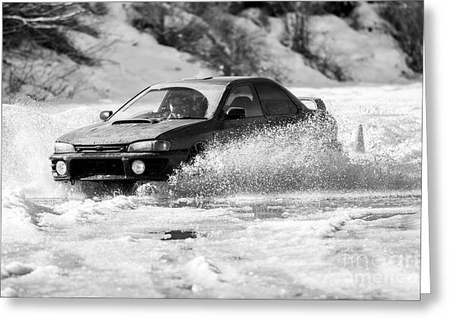 Rally Action Greeting Card