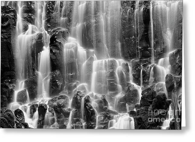 Ramona Falls Close-up Greeting Card