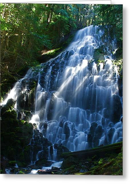 Ramona Falls Greeting Card