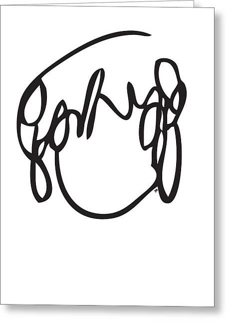 Ramona Flowers Black - Scott Pilgrim Vs The World Greeting Card