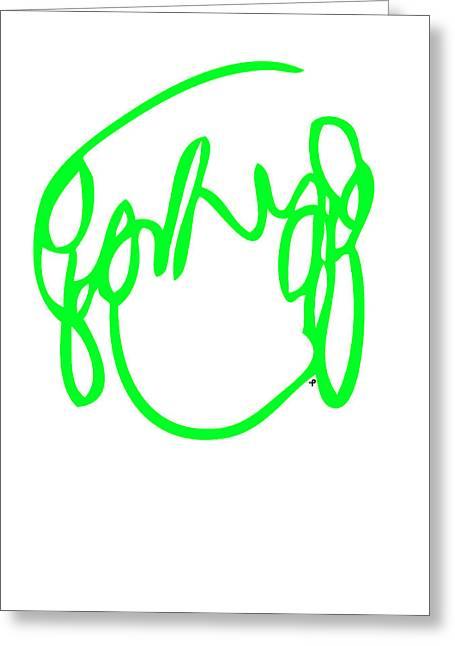 Ramona Flowers Green - Scott Pilgrim Vs The World Greeting Card