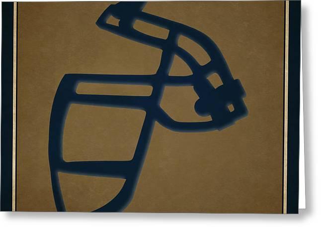 Rams Face Mask Greeting Card