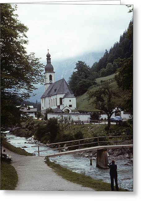 Ramsau Church Greeting Card