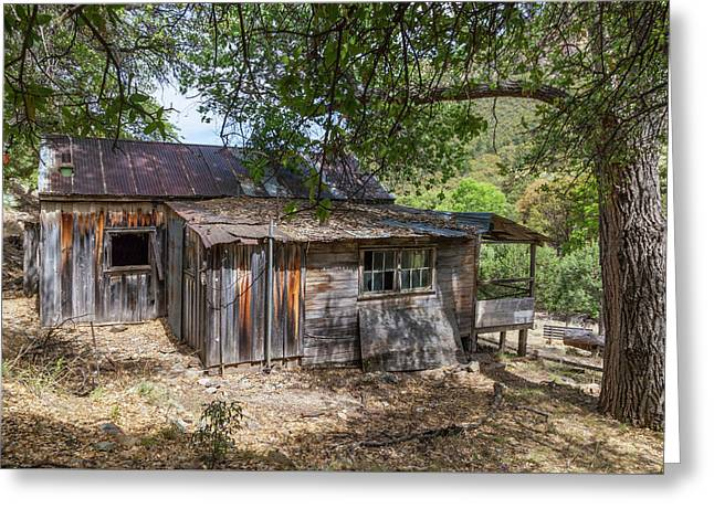 Ramsey Canyon Cabin Greeting Card
