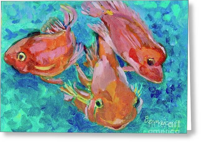 Ramshead Goldfish Greeting Card