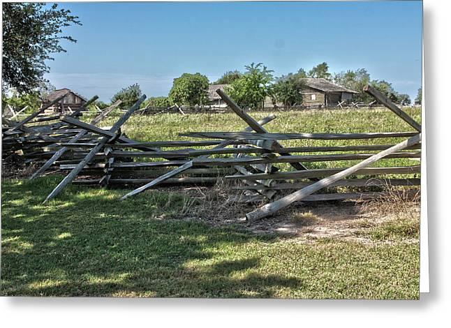 Ranch View1 Greeting Card