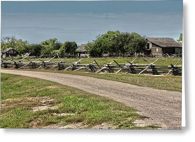 Ranch View3 Greeting Card