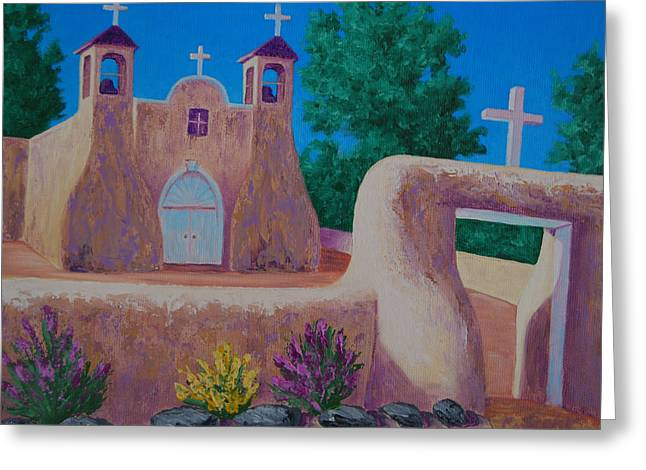 Rancho De Taos II Greeting Card