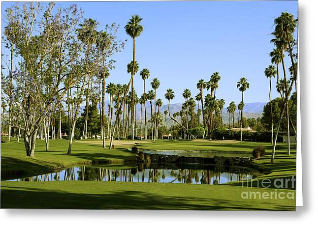 Rancho Mirage Golf Course Greeting Card