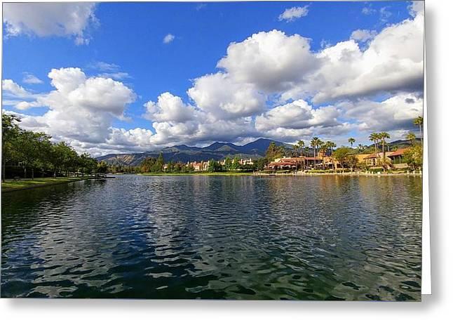 Rancho Santa Margarita Lake Greeting Card