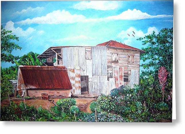 Rancho Viejo Greeting Card by Jose Lugo