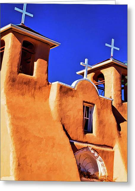 Ranchos De Taos Church Greeting Card