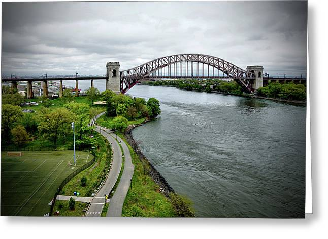 Randall's Island To Hellgate Greeting Card