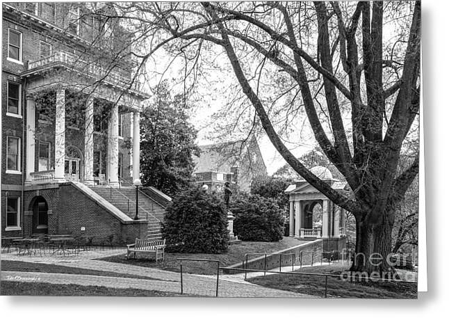 Randolph College Moore Hall Greeting Card by University Icons