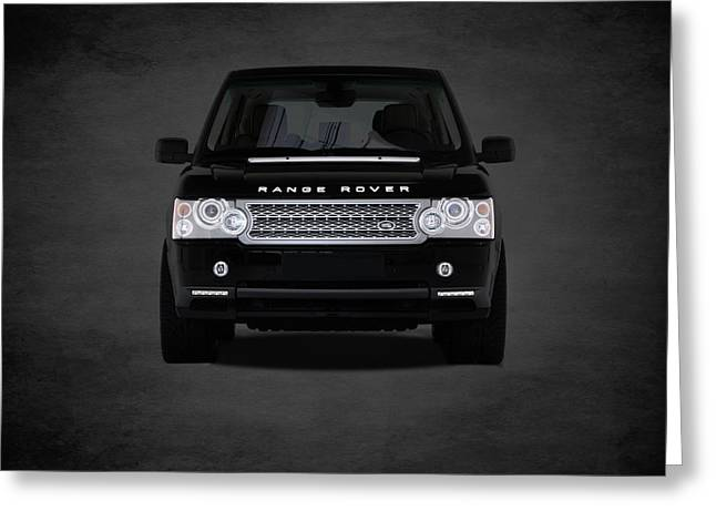 Range Rover Greeting Card by Mark Rogan