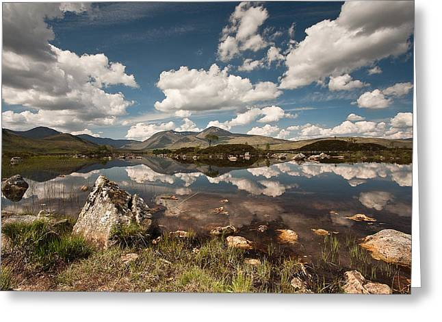 Rannoch Moor Greeting Card